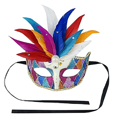 Zucker Feather Products Feathered Jubilee MASK