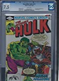 Hulk #271 Marvel Silver Age CGC 7.5 1st Rocket Racoon Guardians of the Galaxy