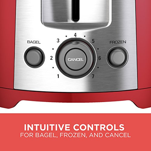 Black & Decker TR1278RM 2-Slice Toaster, Red