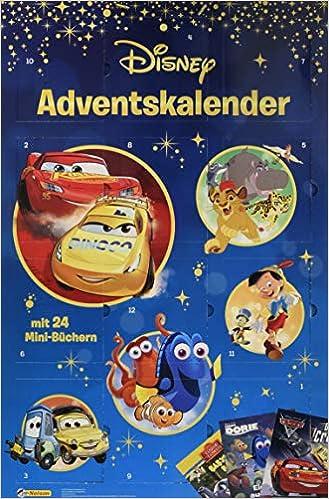 Disney Minibuch Adventskalender Disney Klassiker Amazonde Bücher