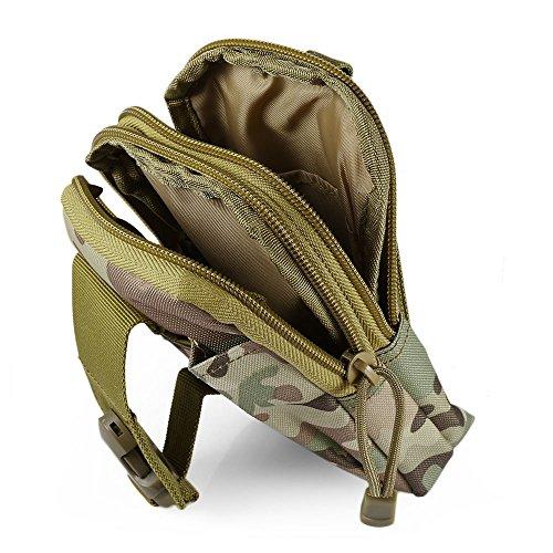 Cp Libre color Shuzhen bolso Molle Aire Multifunción Al camuflaje Deportes Camuflaje Cintura Acu Bolsa Impermeable Tactic De BYBqHa