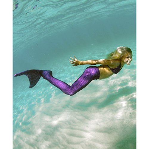 fin fun mermaid tails for swimming with monofin � girls