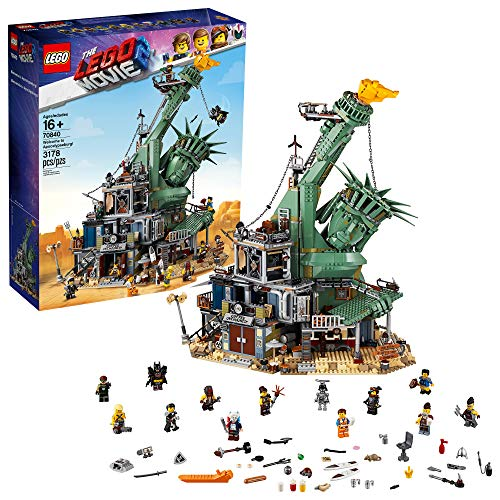 - THE LEGO MOVIE 2 Welcome to Apocalypseburg 70840 Building Kit, New 2019 (3178 Piece)