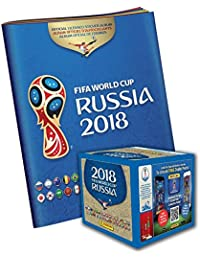 2018 Panini Russia FIFA World Cup Soccer Sticker Bundle...