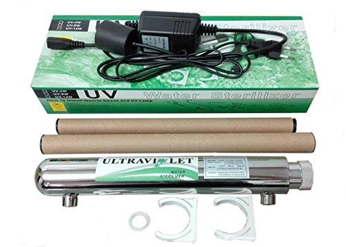 Kit depuracion luz ultravioleta 12 Wats