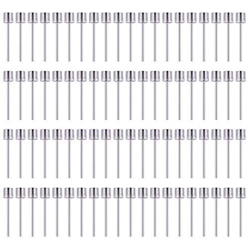80PCS Ball air Pump Needles Adaptor Inflating Needle Sports Balls, Football Basketball