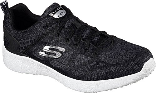 Skechers Sport Heren Energy Burst Deal Closer Sneaker Zwart / Wit