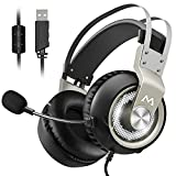Best Noise Cancelling Headphones With Microphones - Mpow EG3 PC Gaming Headset 7.1 Surround Sound Review