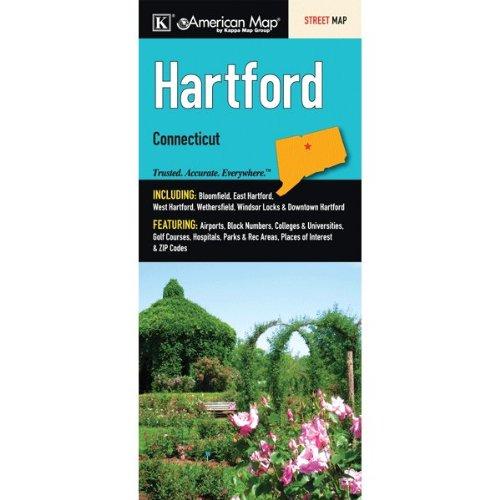 Hartford Connecticut Map - Hartford, Connecticut City Street Map