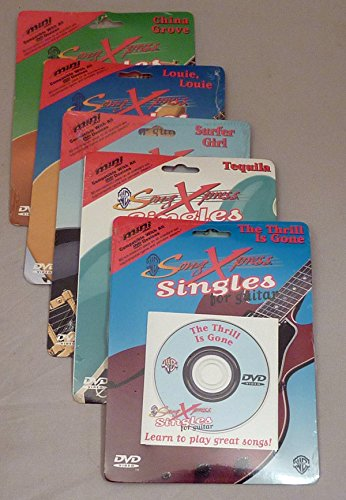 SongXpress Singles for Guitar (5 pack)