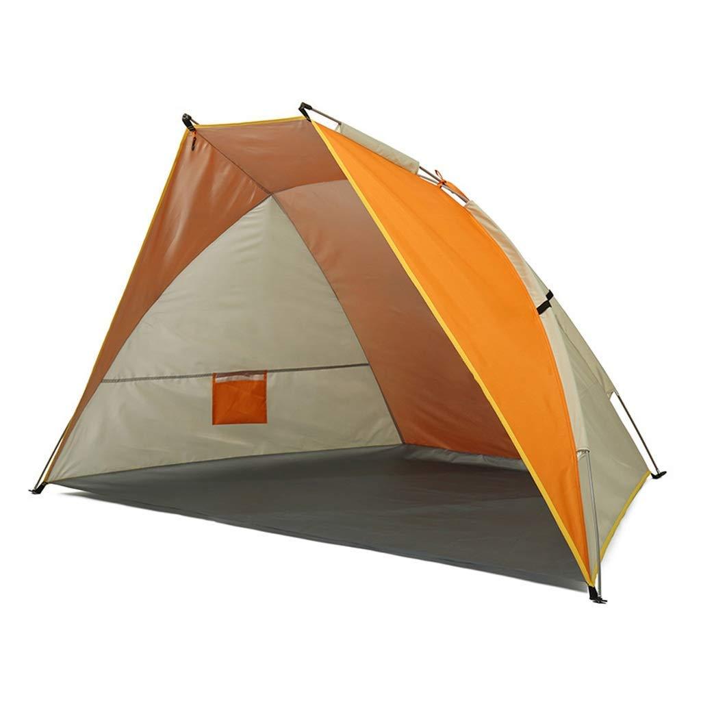 2018新入荷 テントビーチ防水テント (色、細いドームテント、日当たりの良い釣りテント、三色 (色 : Orange Orange) Orange : B07P5BV5WK, 久々野町:c08f283a --- ciadaterra.com