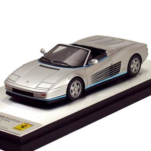 1/43 フェラーリ テスタロッサ スパイダー ピニンファリーナ Ch.62897 1986 ジャンニ・アニエリ シルバー 限定100台 EM224A
