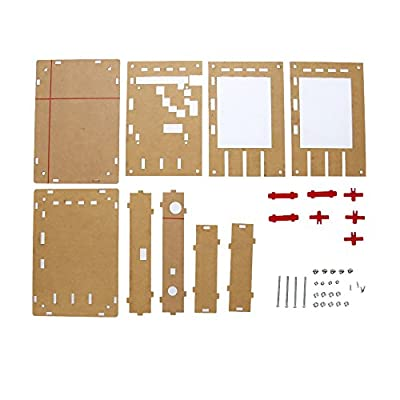 "Oscilloscope DIY Kit, KKmoon DSO138 2.4"" TFT Digital Oscilloscope Accessory Spare Parts Transparent Acrylic Case DIY Kit"