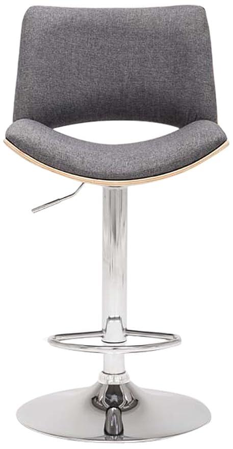 Superb Boraam 99436 Gordon Swivel Stool 1 Pack Adjustable Height Gray Machost Co Dining Chair Design Ideas Machostcouk