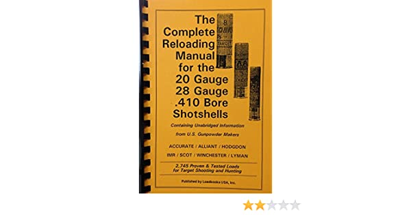 hercules powder reloading manual ebook