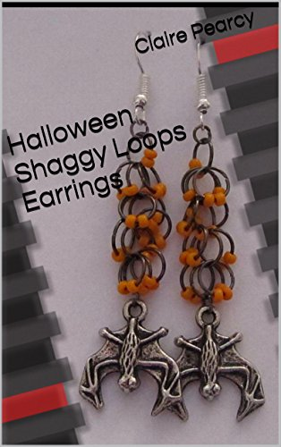 Halloween Shaggy Loops Earrings: Jewellery Making Tutorial for $<!---->