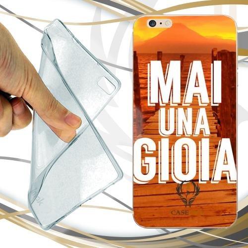 CUSTODIA COVER CASE MAI UNA GIOIA SFONDO PER IPHONE 7