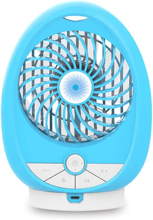 Coohole-Eletronic Multi Function Blue2th Speakers Small Fan Handheld Desktop Silent Mini Fan Blue2th Speaker USB Rechargeable Camping Beach Pool Shower Loud Stereo Rich Bass