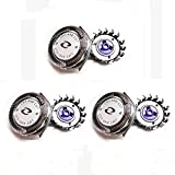 Best universal Of African Men Dvds - 3pcs Shaver Razor Head Replacement Blades Cutters Review