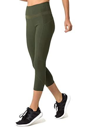 c329be6234f9e1 MPG Sport Prelude High Waisted Capri (XS) at Amazon Women's Clothing ...