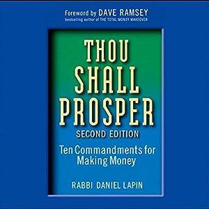 Thou Shall Prosper Audiobook