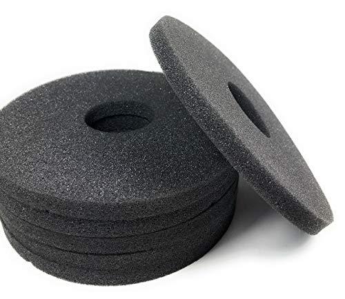 Margarita Salt Glass Bar Rimmer Replacement Sponges Set of 6, Black by SUMMIT Salt Rimmer Replacement Sponges (Image #5)