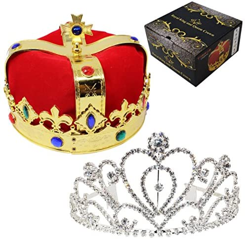 JOYIN Royal Jewleled Queens Crowns product image