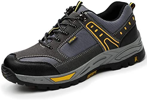 SFOXL Zapatos de Seguridad para Hombre, con Puntera de Acero ...