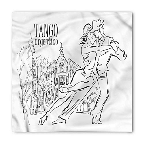 Argentina Bandana, Tango Argentino Dancers, Unisex Head and Neck Tie