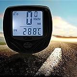 Waterproof Wireless Bike Bicycle Computer Speedometer Odometer Distance Speed Meter with Auto Wake