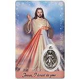 Divine Mercy, Prayer Card
