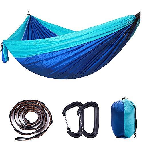 LH-Hängematte Campinghängematte Außen Rasche Trocknung, Atmungsaktivität, tragbar Nylon für 3 Angeln Camping - Rote, Grau, Dunkelgrün Grau
