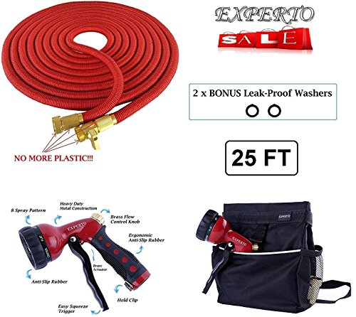 25ft Red Expandable Garden Hose product image