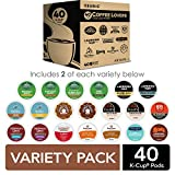 Keurig Coffee Lovers' Collection Sampler Pack, Single-Serve K-Cup Pods, Variety Pack, 40 Count (Pack...