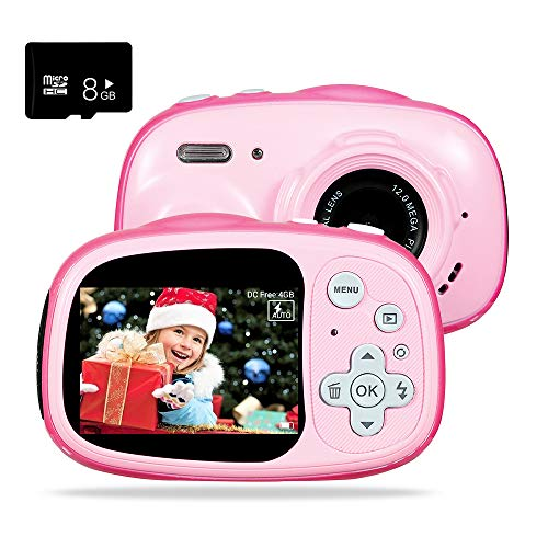 OUKITEL Q1 Waterproof Kid Camera Digital Video Camcorder Creative Toy Camera Rechargeable - Taking Without Toys Asking Kids