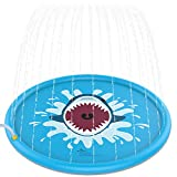 "Toys : Jasonwell Sprinkle & Splash Play Mat 68"" Sprinkler for Kids Outdoor Water Toys Fun for Toddlers Boys Girls Children Outdoor Party Sprinkler Toy Splash Pad"