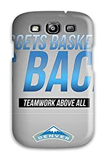 Tpu Shockproof/dirt-proof Denver Nuggets Nba Basketball (27) Cover Case For Galaxy(s3)