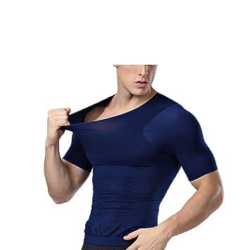 KouCla F-8883 gris Camisa tipo body para mujer Tallas S a XL color azul negro o blanco