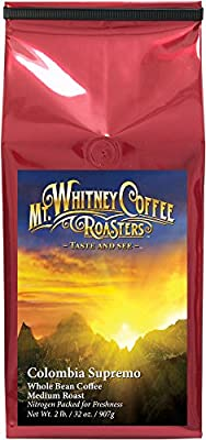 Mt. Whitney Coffee Roasters Base Camp Blend Coffee from Mt. Whitney Coffee Roasters