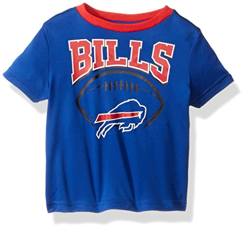 NFL Buffalo Children Boys Short sleeve Tee, 4T, Bills - Buffalo Bills T-shirt