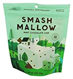 SmashMallow Snackable Marshmallows, Chocolate Chip Mint, 4.5 oz