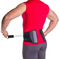 Spine Sport Back Brace - Best Active Lumbar Support for Athletic Use, Exercise,...