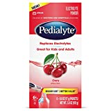 Pedialyte Large Powder Packs, Cherry, 3.6 OZ, 6 Count
