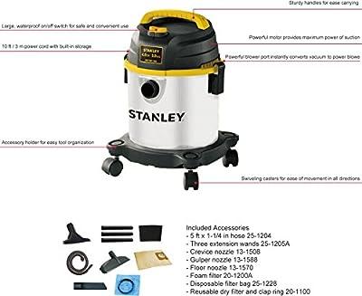 Stanley 4 hp Wet/Dry Vacuum