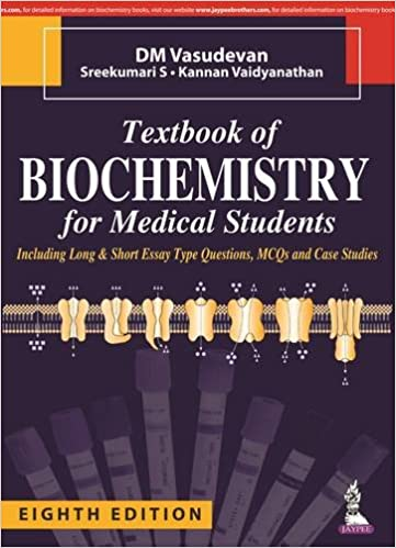 Textbook of biochemistry for medical students 9789385999741 textbook of biochemistry for medical students 8th edition fandeluxe Choice Image