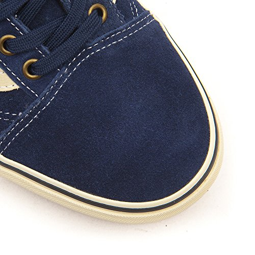 Vans I Old Vd3ay28 Skool Daim Chaussures bas Unisexe Iris Noir Enfant BSSwPdqf5x
