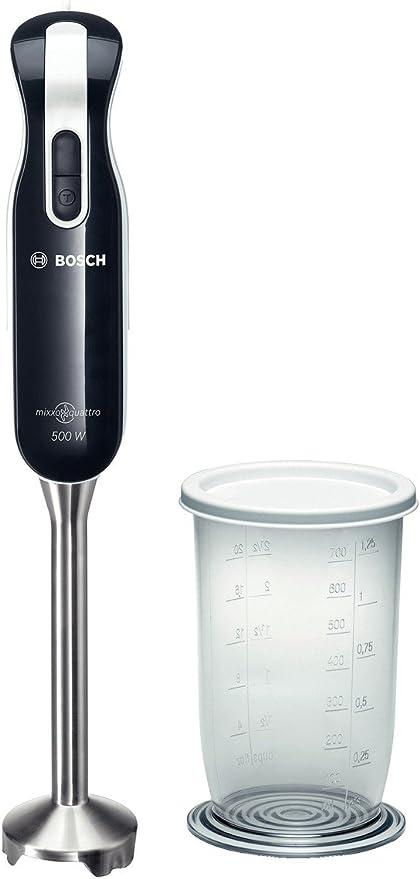 Bosch MSM7250 Batidora de inmersión 500W Negro - Licuadora ...