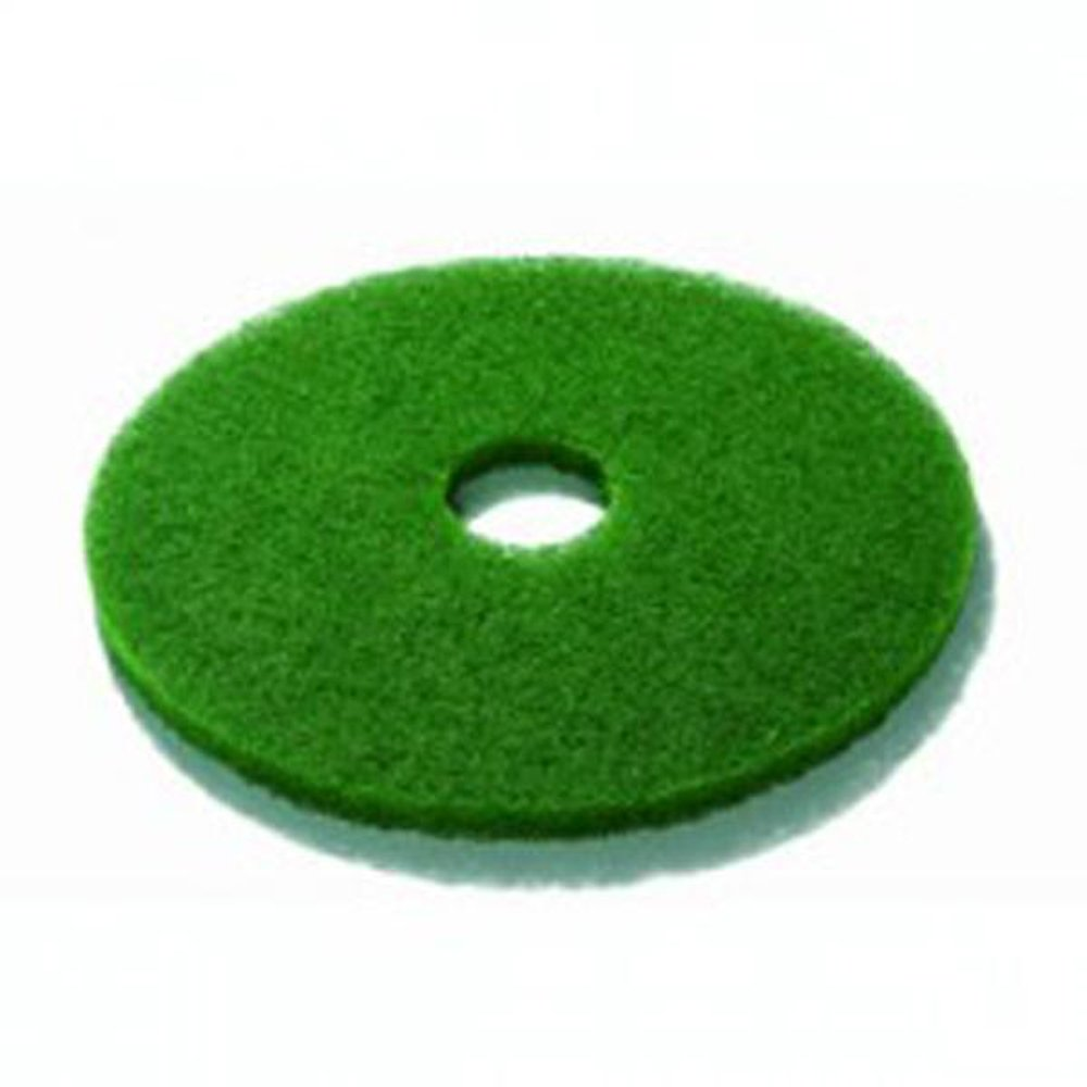 3M HG111-GN Floor Pad, 11' Diameter, Green (Pack of 5) 11 Diameter