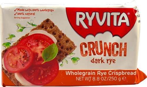 Ryvita Wholegrain Rye Crispbread Original -- 8.8 oz - 2 (Ryvita Whole Grain)