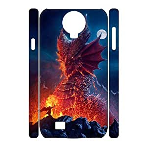 ALICASE Diy Case Dragon Cover For Samsung Galaxy S4 i9500 [Pattern-1]